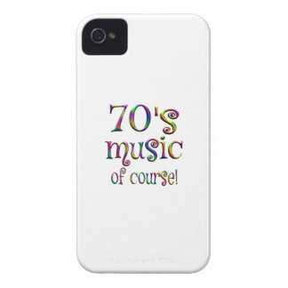 70s Music of Course iPhone 4 Case