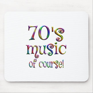 70s Music of Course Mouse Pad
