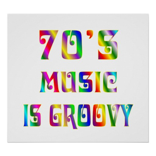 70s Music Poster