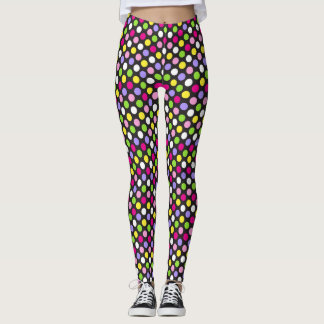 70s Polka Dot Leggings