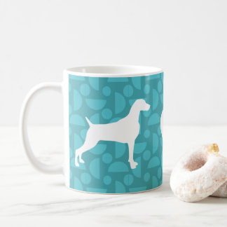 70s RETRO WEIMARANER LOVE 11oz MUG