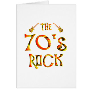 70's Rock Cards