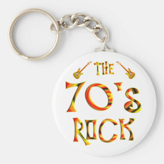 70's Rock Key Chain