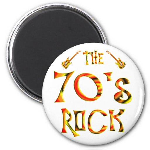 70's Rock Refrigerator Magnet