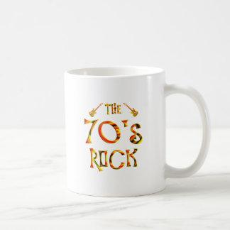 70's Rock Classic White Coffee Mug