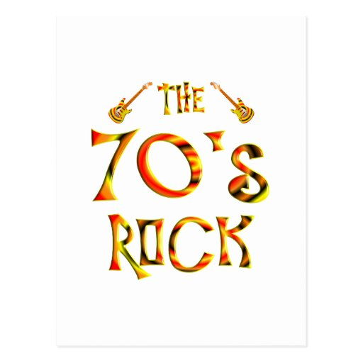 70's Rock Post Cards