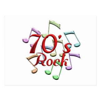 70s Rock Postcard