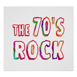 70s Rock Poster