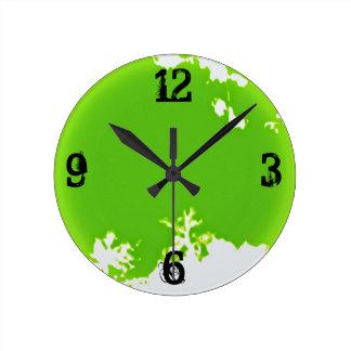 70's round clock