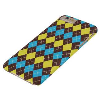70s Scottish Tartan-Pattern... Barely There iPhone 6 Plus Case