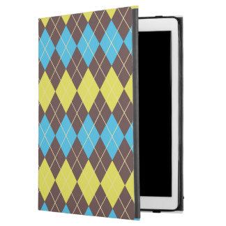 """70s Scottish Tartan-Pattern... iPad Pro 12.9"""" Case"""