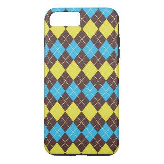 70s Scottish Tartan-Pattern... iPhone 8 Plus/7 Plus Case