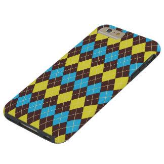 70s Scottish Tartan-Pattern... Tough iPhone 6 Plus Case