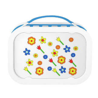 70's springtime lunchbox