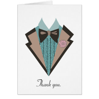 70s tux Thank you. Card