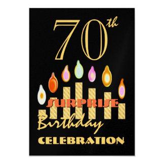 70th - 79th SURPRISE Birthday Party Invitation