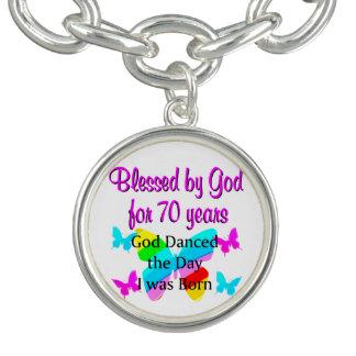70TH BIRTHDAY BLESSING BRACELET