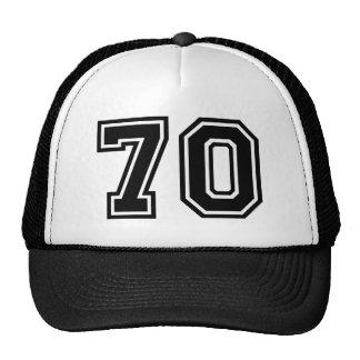 70th Birthday Classic Trucker Hat