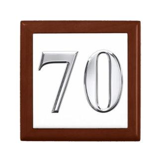 70th Birthday Gift Box