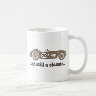 70th Birthday Gift For Him Classic White Coffee Mug