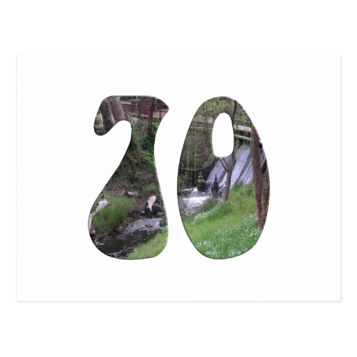 70th Birthday Postcards