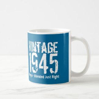 70th Birthday Vintage 1945 or Any Year A01 Coffee Mug