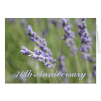 70th Wedding Anniversary Greeting Card