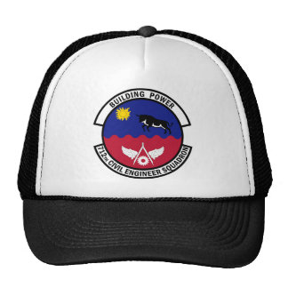 712th Civil Engineer Squadron - Building Power Mesh Hat