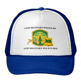 716TH MILITARY POLICE BATTALION HAT