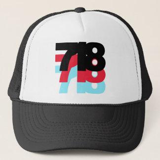 718 Area Code Trucker Hat
