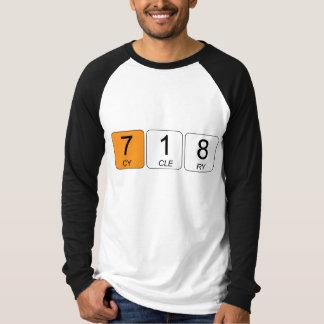 718 Cyclery Baseball Shirt