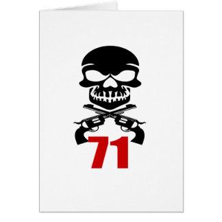 71 Birthday Designs Card