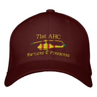 71st AHC Vietnam UH1 Embroidered Hat