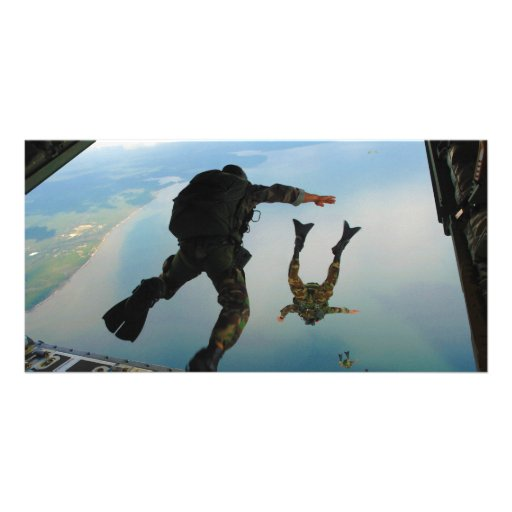 720h Special Tactics Group Jumping Out of Planet Photo Card