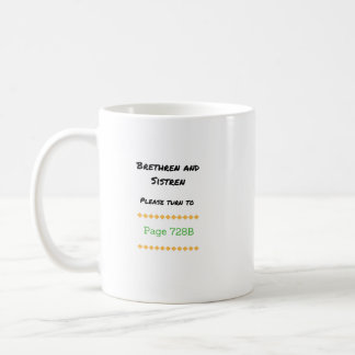 728B Favorite Song Coffee Mug