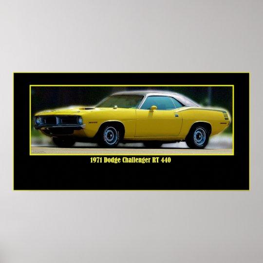 '72 CHALLENGER 440 POSTER