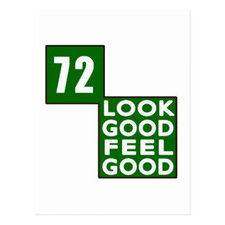 72 Look Good Feel Good Postcard