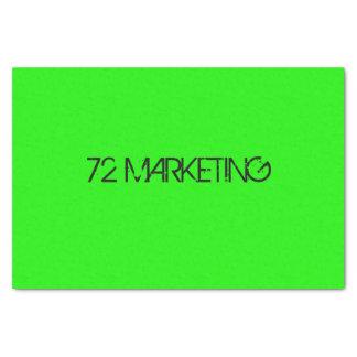 72 MARKEING TISSUE PAPER