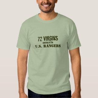 72 Virgins, courtesy of the, U.S. RANGERS Tshirt