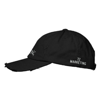 72marketing by Noel Estes Rugged Hat Embroidered