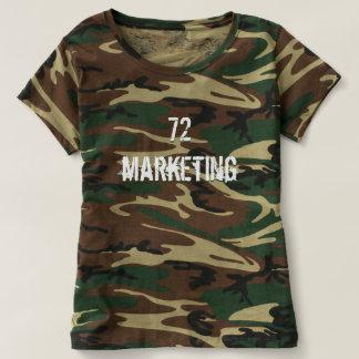 72marketing Camo Shirt Logo Ladies Hunting Army