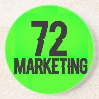 72marketing Coaster Drink Logo Houseware Neon