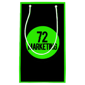 72marketing logo by noel estes gift bag