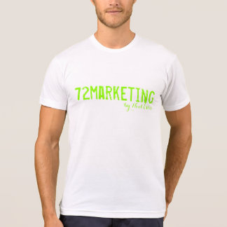 72marketing signature lJersey T-Shirt mens shirt