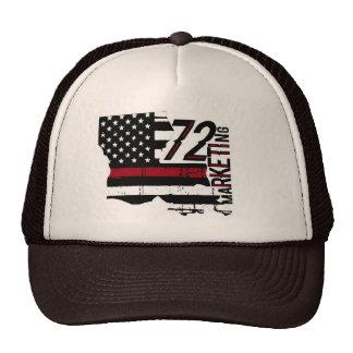 72marketing thin red line trucker hat Louisiana