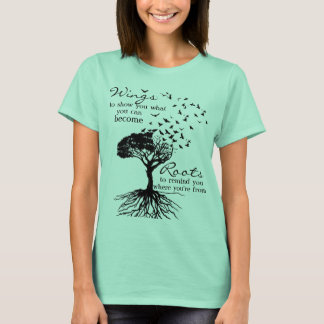 72Marketing Wings & Roots in Seafoam T-Shirt