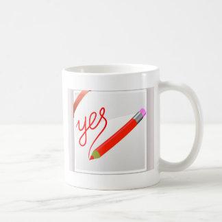 72Red Pencil_rasterized Coffee Mug