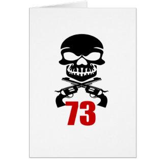 73 Birthday Designs Card