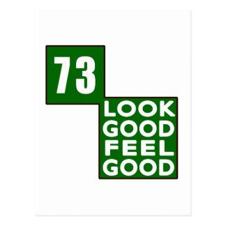 73 Look Good Feel Good Post Card