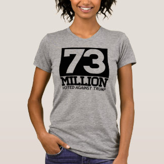 73 MILLION VOTED AGAINST TRUMP - T-Shirt